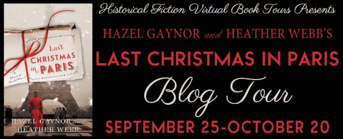 Last Christmas in Paris blog tour via HFVBTs