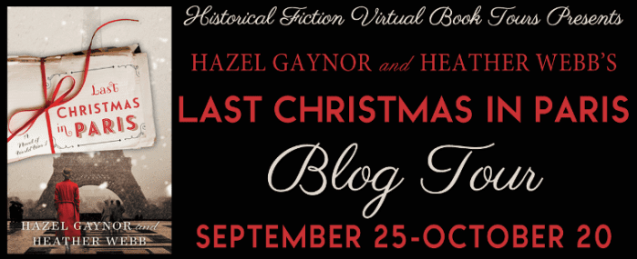 Last Christmas in Paris blog tour via HFVBTs