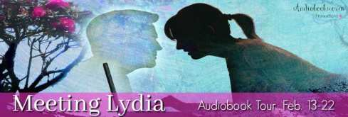 Meeting Lydia blog tour via Audiobookworm Promotions