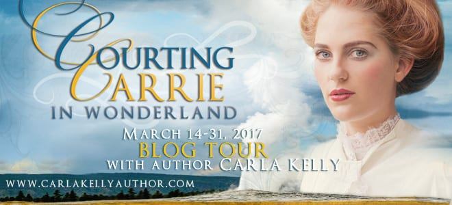 Courting Carrie in Wonderland blog tour via Cedar Fort Publishing & Media.