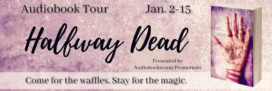 Halfway Dead audiobook blog tour via Audiobookworm Promotions