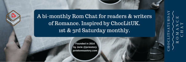 ChocLitSaturday banner made in Canva by Jorie.