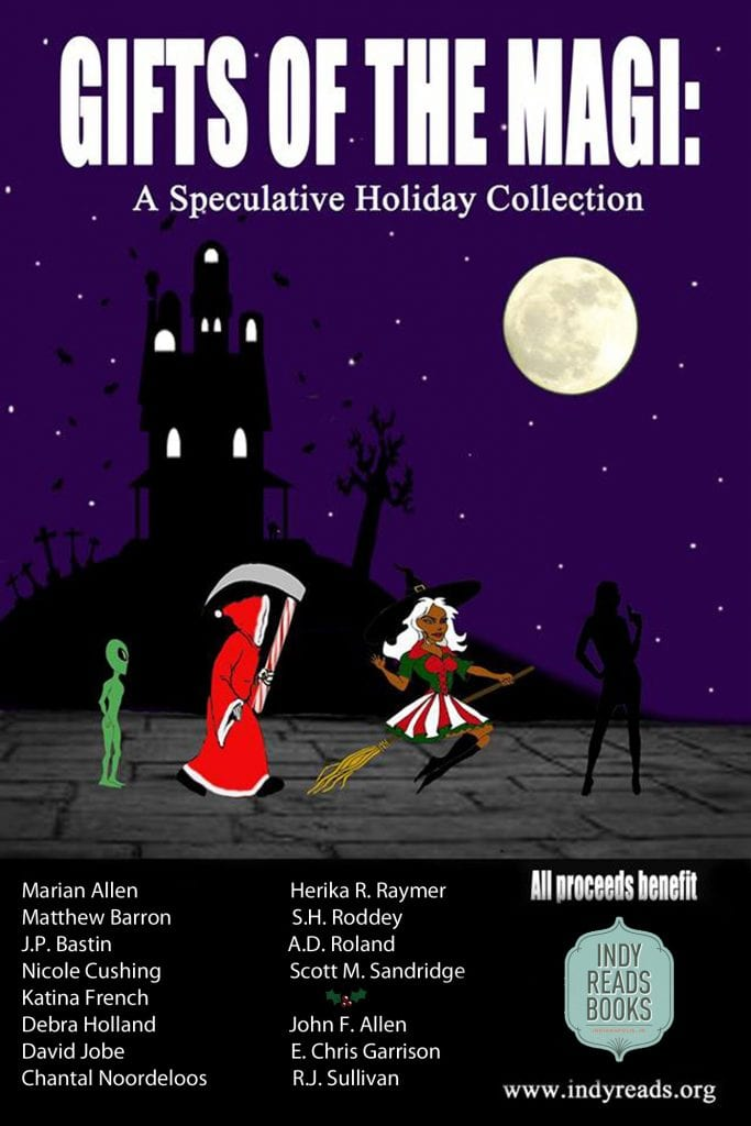 "#TwelfthNightReadathon | ""Gifts of the Magi: A Speculative Holiday Collection"" an anthology with a charitable heart benefiting Indy Reads Books!"