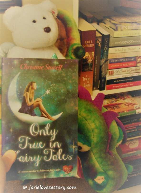 A photo of a corner of one of my bookshelves with two of my plushies & #PocketChocLit. Book Photography Credit: Jorie of jorielovesastory.com.