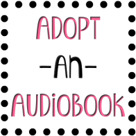 Adopt an Audiobook badge provided by Audiobookworm Promotions