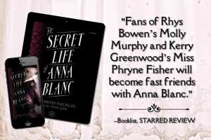 The Secret Life of Anna Blanc teaser graphic provided by Audiobookworm Promotions