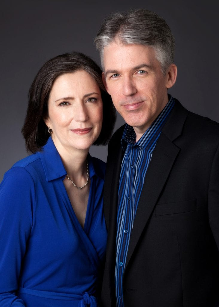Married writing team of Rosemarie & Vince Keenan, known as Renee Patrick. Photo Credit: David Hiller, 2015