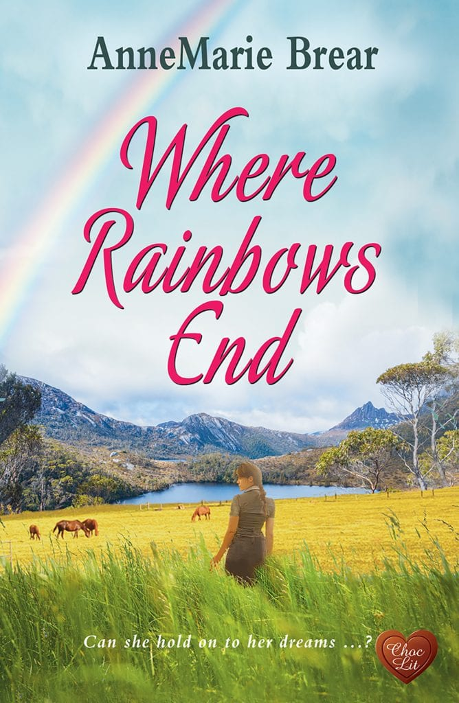 """Cover Reveal   NEW #ChocLit #HistFic by AnneMarie Brear """"Where Rainbows End""""!"""