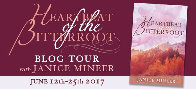 Heartbeat of the Bitterroot blog tour via Cedar Fort Publishing and Media