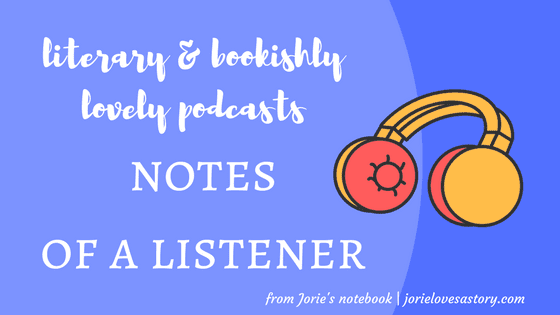 Notes of a Listener banner created by Jorie in Canva.