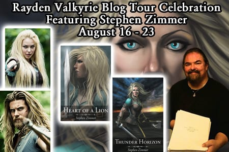 Rayden Valkyrie blog tour hosted by Tomorrow Comes Media.