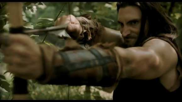 Screen Capture of John Wells as 'Hallad' in the tv pilot for 'Rayden Valkyrie: Saga of a Lionheart' being used with permission and provided by Seventh Star Studios.