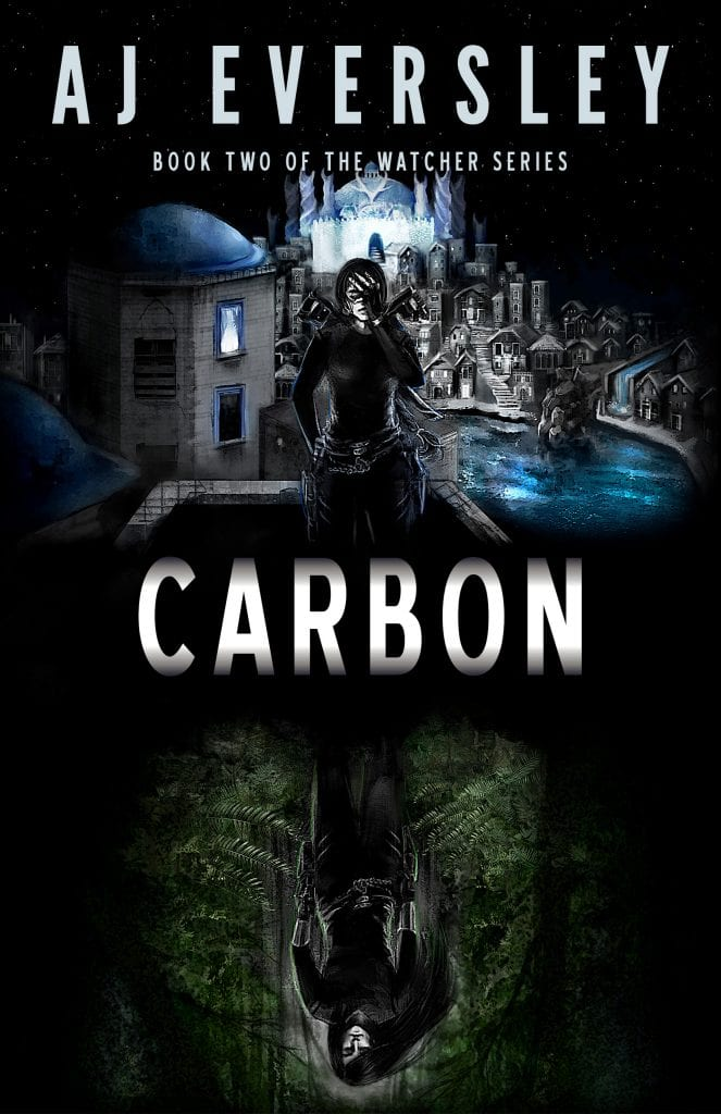 "Blog Book Tour | ""Carbon"" (Book Two: The Watcher Series) by AJ Eversley"