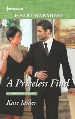 "Book Review | ""A Priceless Find"" (Camden Falls series, Book One) by Kate James A series by #HarlequinHeartwarming"