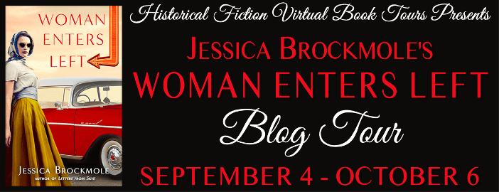 Woman Enters Left blog tour via HFVBTs