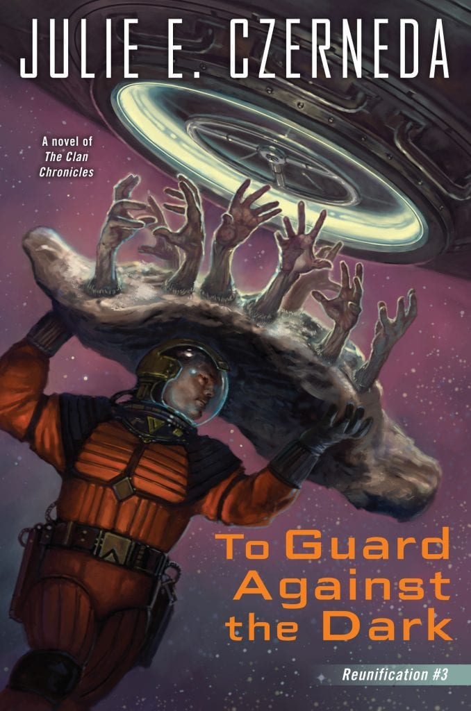 "#RRSciFiMonth Book Review | #whoaretheclan | ""To Guard Against the Dark"" (Book No.3 of the Reunification trilogy) by Julie E. Czerneda #FuellYourSciFi with Jorie!"