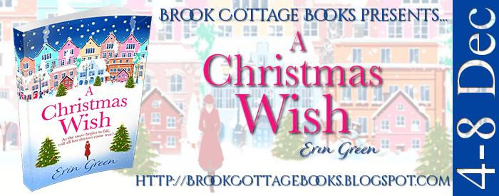 A Christmas Wish blog tour via Brook Cottage Book Tours