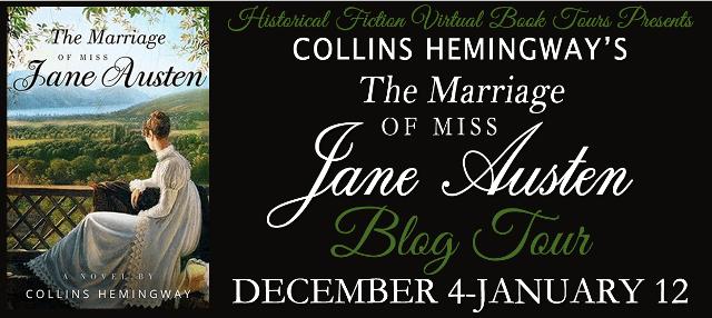 The Marriage of Miss Jane Austen blog tour via HFVBTs