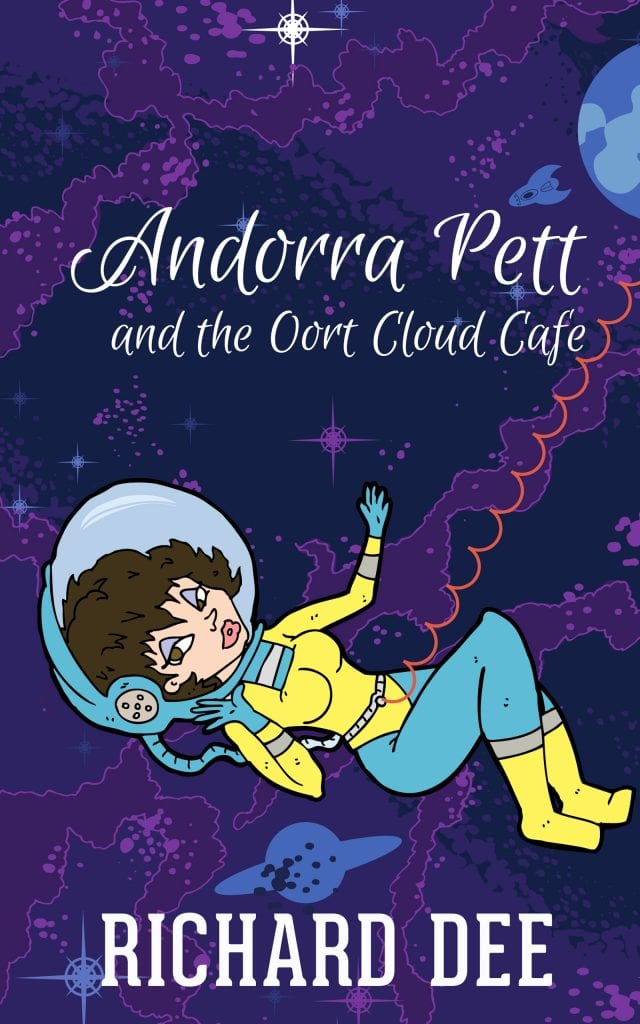Author Interview | Richard Dee on behalf of his series feat. Andorra Pett and her sweet adventures in Space!
