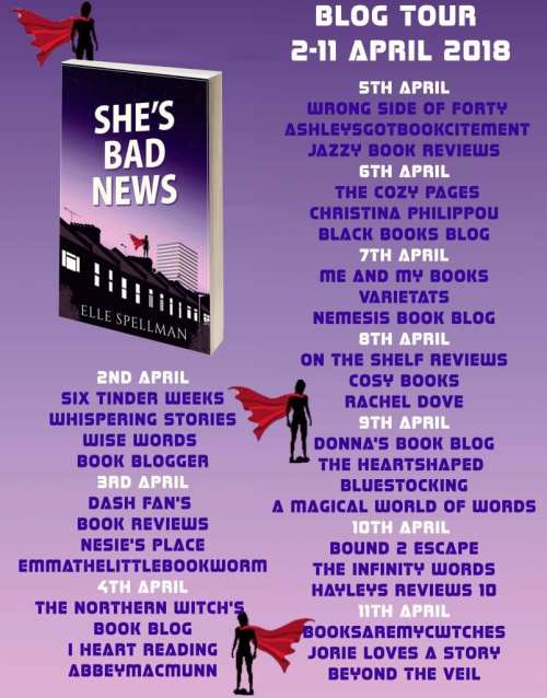She's Bad News blog tour via Rachel's Random Resources