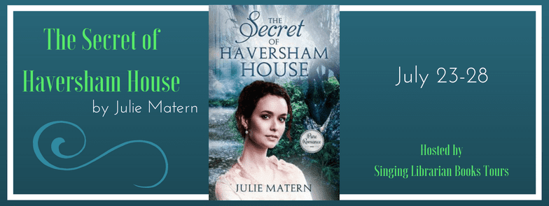 The Secret of Haversham House blog tour via Singing Librarian Book Tours