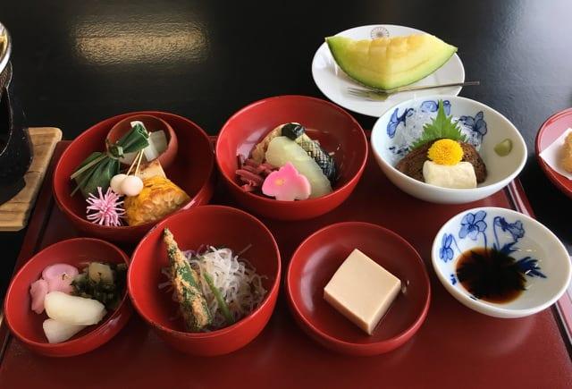 Enryakuji Shojin Ryori. Photo Credit: Susan Spann
