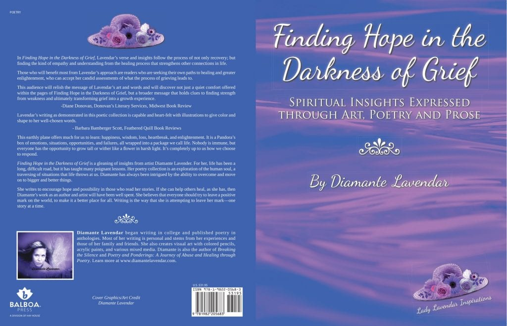 Finding Hope in the Darkness of Grief by Diamante Lavendar (full cover)
