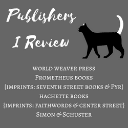 Publishers I Review badge created by Jorie in Canva.