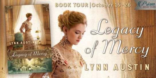 Legacy of Mercy blog tour via Prism Book Tours.