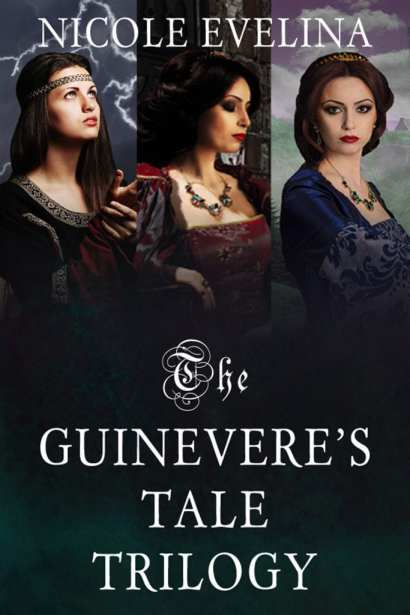 Guinevere Tale Trilogy boxed set graphic provided by Nicole Evelina for this blog tour.