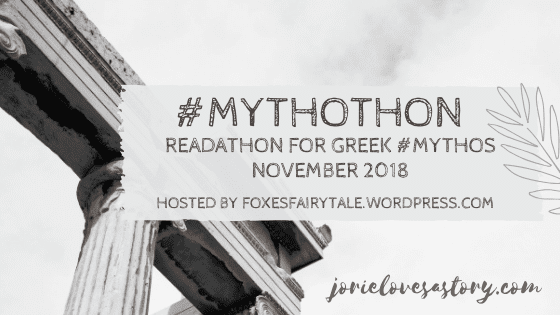 #Mythothon banner created by Jorie in Canva. Photo Credit: Photo Credit: Unsplash Public Domain Photographer Cristina Gottardi