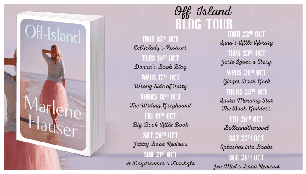 Off Island blog tour via Faye Rogers PR