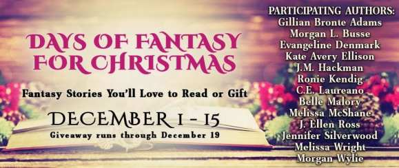 Fantasy for Christmas blog tour via Prism Book Tours
