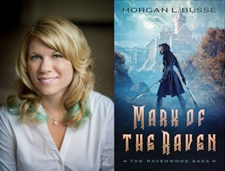 Morgan L. Busse Fantasy For Christmas 2018 Grand Finale graphic provided by Prism Book Tours.