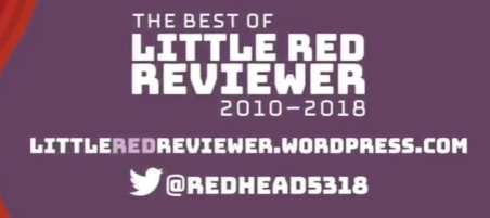 The Best of Little Red Reviewer Kickstarter Campaign banner provided by Andrea and is used with permission.