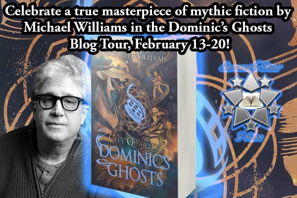 Dominic's Ghosts blog tour via Tomorrow Comes Media