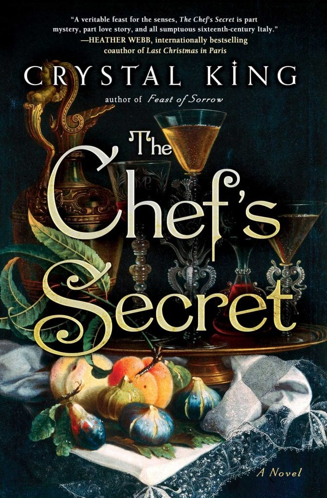 "Author Interview | Remember when I read ""The Chef's Secret""? Happily had the chance to discuss it with the author, Crystal King!"