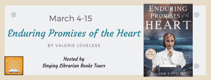 Enduring Promises of the Heart blog tour via SLB Tours