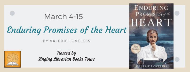 Enduring Promises of the Heart blog tour via SLB Tours