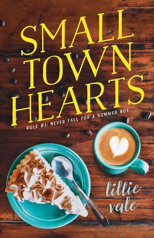 """#PubDay Author Interview   Chattering about her debut #SwoonReads Contemporary YA Romance """"Small Town Hearts"""" – Jorie interviews Lillie Vale!"""
