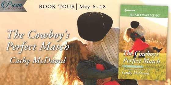 The Cowboy's Perfect Match blog tour via Prism Book Tours