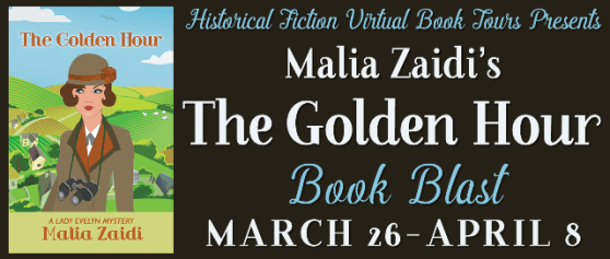 The Golden Hour book blitz tour via HFVBTs