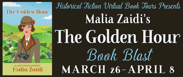 The Golden Hour book blitz tour via HFVBTs