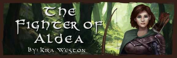 The Fighter of Aldea banner provided by the author and is used with permission.