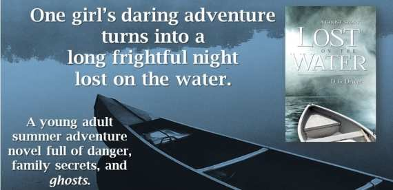 """Promo banner for """"Lost on the Water"""" provided by the author D.G. Driver and is used with permission."""
