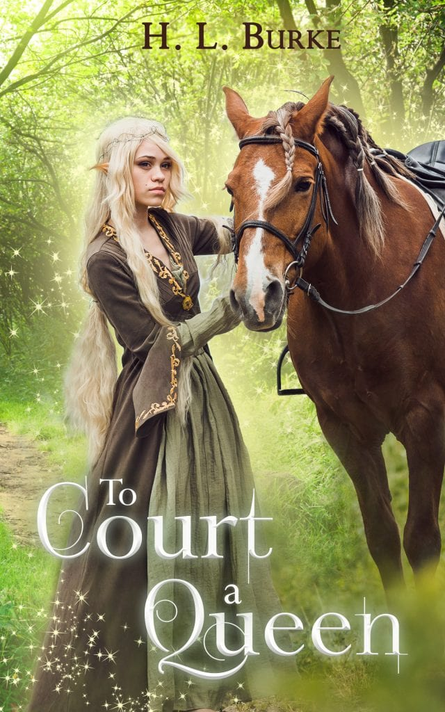 "#EnterTheFantastic with #WyrdAndWonder | Book Review of ""To Court A Queen"" by H.L. Burke an Indie novelist who writes wicked brill Fantasy Romance with a heap of humour at its heart!"