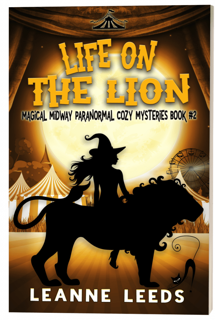 "#EnterTheFantastic with #WyrdAndWonder | Book Review of the Magical Midway Series [book two] ""Life on the Lion"" by Leanne Leeds"