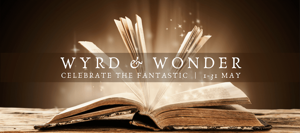 Wyrd And Wonder banner created by Imyril. Image Credit: Magical book by Jakub Gojda from 123RF.com.