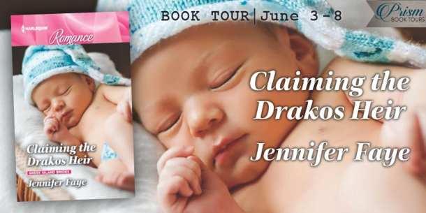 Claiming the Drakos Heir blog tour via Prism Book Tours