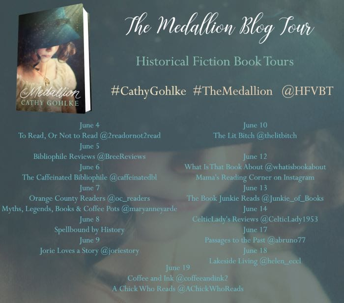 The Medallion blog tour via HFVBTs